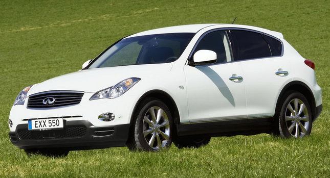 Infiniti EX30d 0011 Infiniti Launches Second Diesel Model  EX30d On Sale in Europe from July Photos