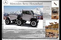 Mercedes Benz Hexawheel Concept 2 Mercedes Benz Hexawheel Concept Study Photos