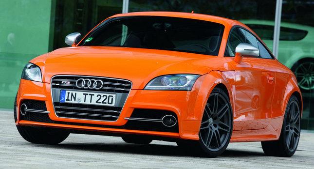 2011 Audi TTS 00 New Photos of Facelift Model Photos