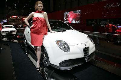 Alfa MiTo GTA 4 Alfa Romeo MiTo GTA 240HP Live Shots and Video from Geneva Photos Videos