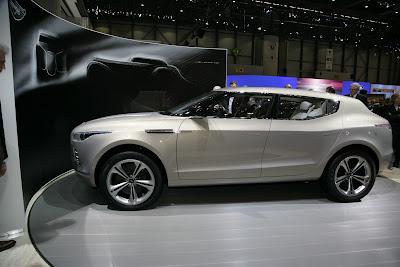 Aston Martin Lagonda 3 Lagonda Concept Crossover Live Photos and Video from Geneva Photos Videos