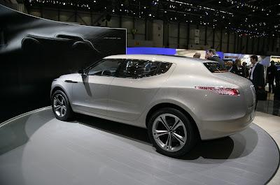 Aston Martin Lagonda 6 Lagonda Concept Crossover Live Photos and Video from Geneva Photos Videos