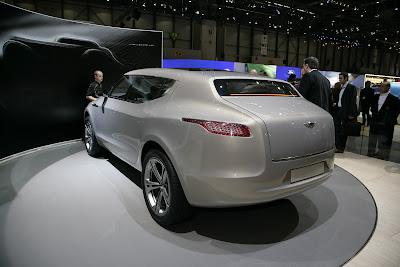 Aston Martin Lagonda 7 Lagonda Concept Crossover Live Photos and Video from Geneva Photos Videos