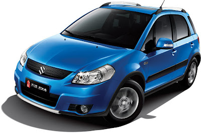 2010 Suzuki SX4 10 2010 Suzuki SX4 and SX4 Sedan Facelift Revealed in China