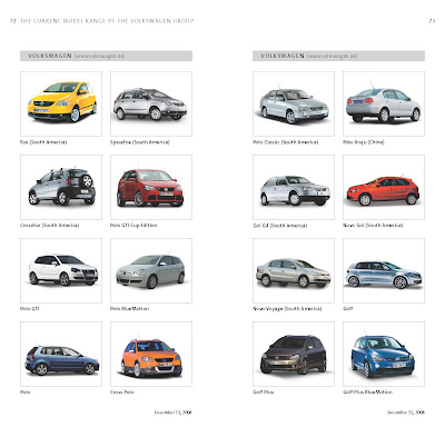 Complete List Of VW Groups Models Sold Worldwide Carscoops - Audi all cars name list