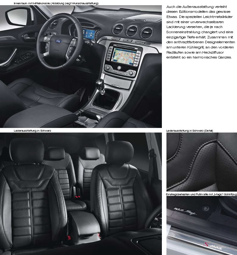 sport cars 2011 ford s max special edition magic models. Black Bedroom Furniture Sets. Home Design Ideas