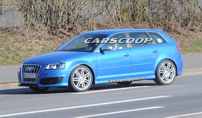Audi RS3 7 Audi RS3 Prototype with 340HP 2.5 Turbo Caught Testing in Nurburgring