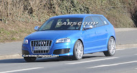 Audi RS3 9 Audi RS3 Prototype with 340HP 2.5 Turbo Caught Testing in Nurburgring