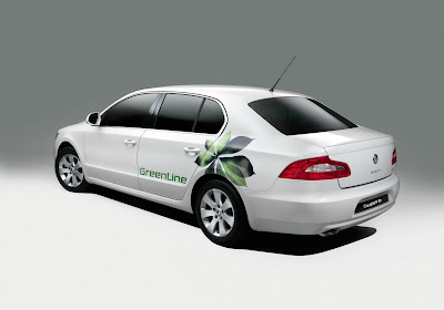 Skoda GreenLine 2 Skodas Superb Greenline becomes the Czech Republic's official EU Presidency vehicle