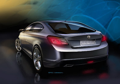 MG Rover MG6 Concept Carscoop