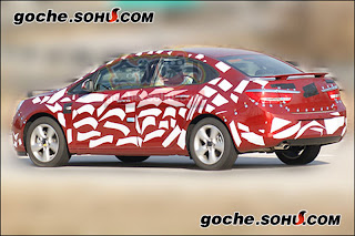 Buick Compact Sedan 2 Buicks Premium Compact Sedan Spied with Less Camouflage in China Photos