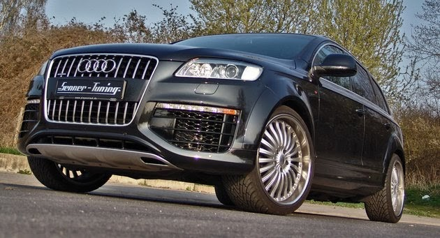 senna tuning gives a boost to the audi q7 4 2 v8. Black Bedroom Furniture Sets. Home Design Ideas