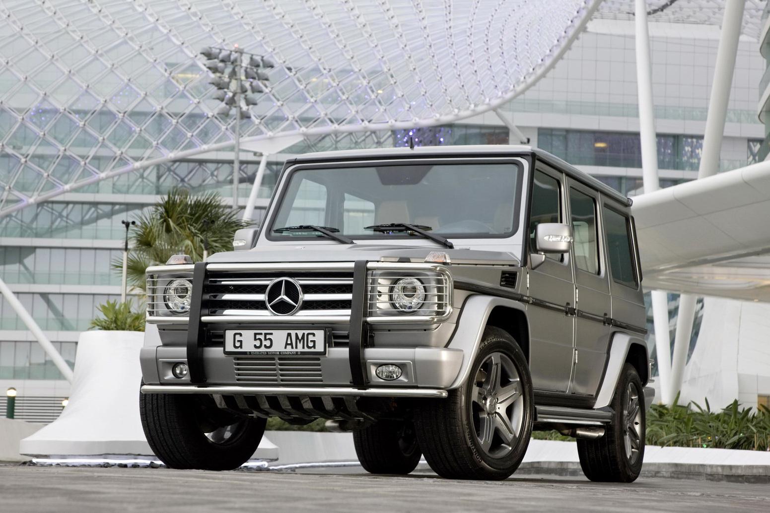 "Mercedes G55 AMG Edition79 38 Dubai Show: Mercedes Benz G55 AMG Kompressor ""Edition 79"" Special"