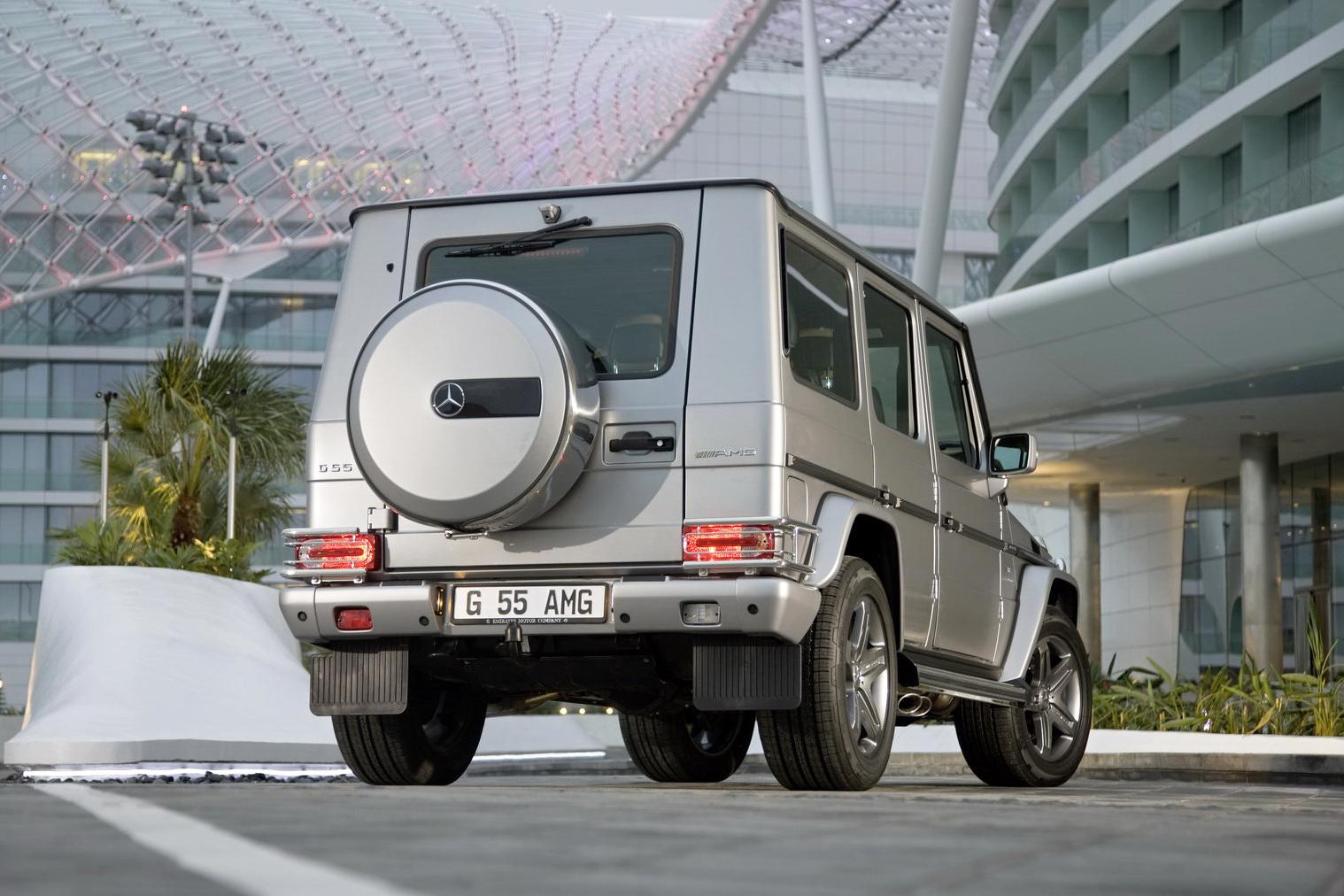 "Mercedes G55 AMG Edition79 40 Dubai Show: Mercedes Benz G55 AMG Kompressor ""Edition 79"" Special"