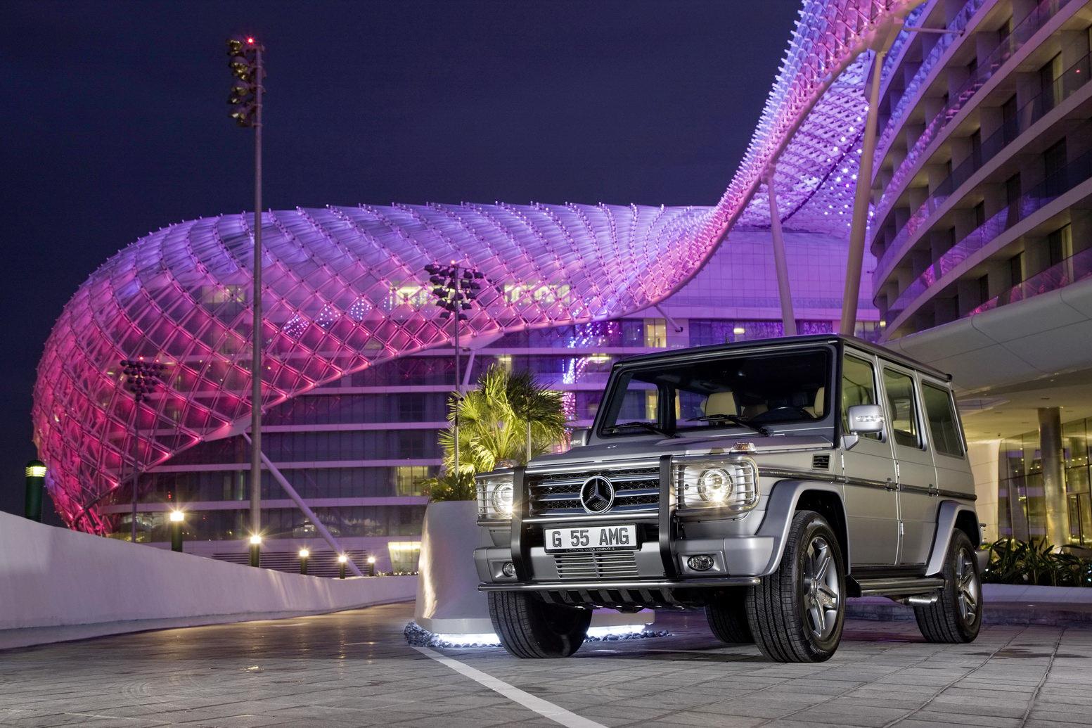 "Mercedes G55 AMG Edition79 42 Dubai Show: Mercedes Benz G55 AMG Kompressor ""Edition 79"" Special"