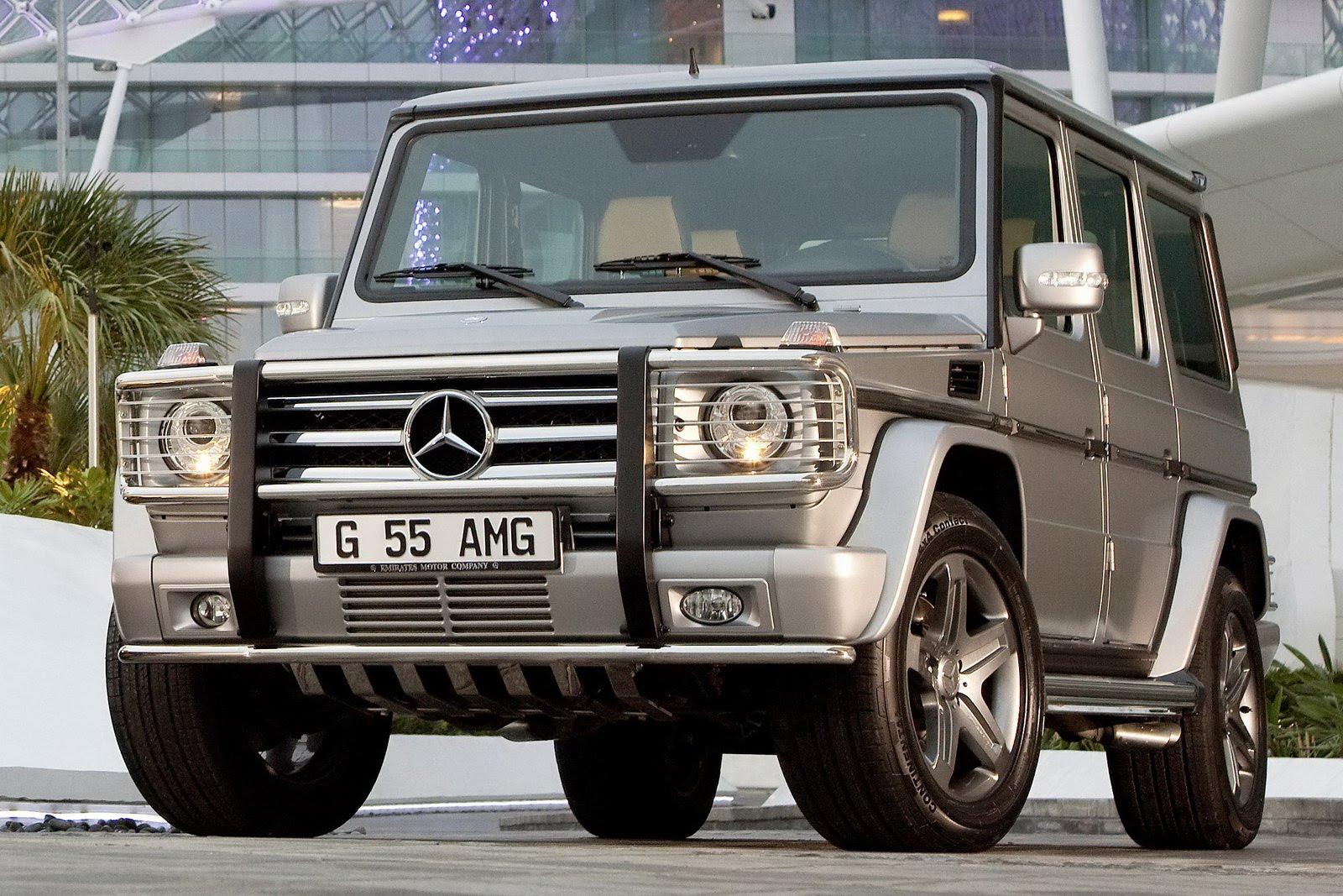 "Mercedes G55 AMG Edition79 44 Dubai Show: Mercedes Benz G55 AMG Kompressor ""Edition 79"" Special"