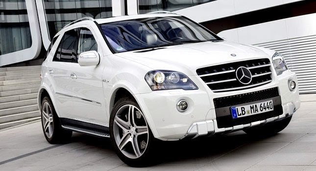 2011 mercedes benz ml63 amg receives minor cosmetic updates. Black Bedroom Furniture Sets. Home Design Ideas