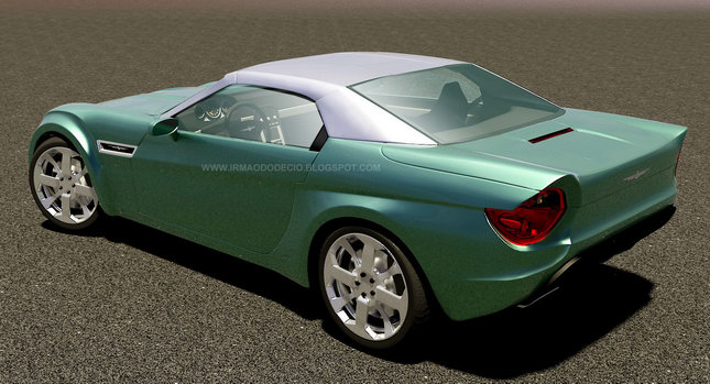Auto Cars 2011 2012 Designer Revives Ford Thunderbird With Hardtop
