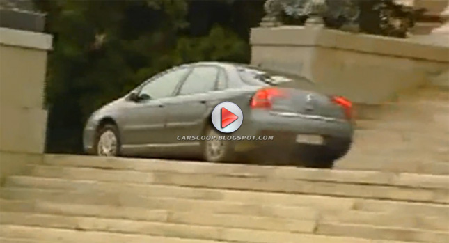 Citroen Incident 0 Drunk Driver Simply Refuses to Stop Crashes Serbian Parliament Photos Videos