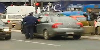 Untitled 1 Drunk Driver Simply Refuses to Stop Crashes Serbian Parliament Photos Videos