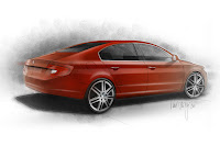 Skoda Superb Fastback 2 New Skoda Superb Fastback Design Concept Photos Videos