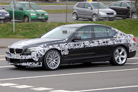 2011 BMW M5 2 SPIED 2011 BMW M5 Super Saloon Sheds More Camouflage Photos