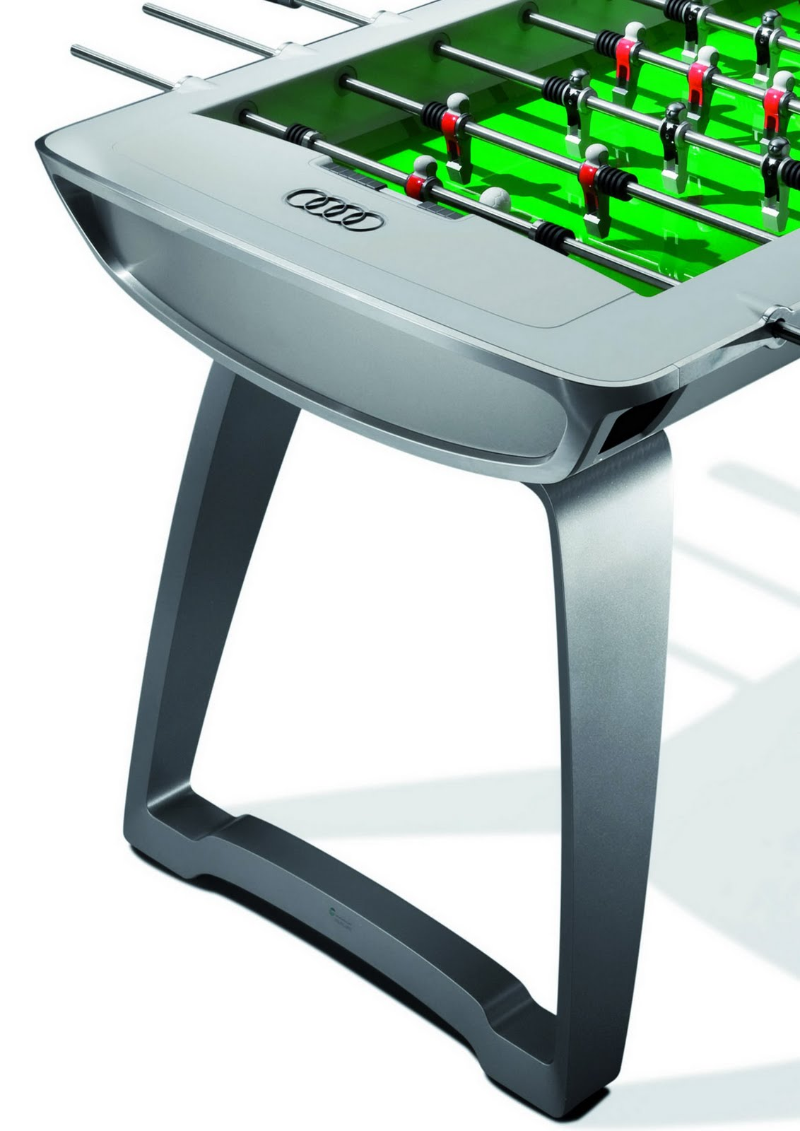 The car audi 39 s ber cool soccer table enters production for Cool html tables