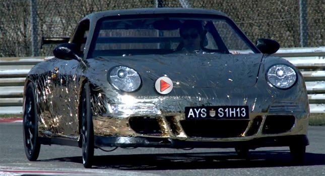 Porsche 911 Gt3 RS Bike 0 Yabba Dabba Doo Porsche 911 GT3 RS Pedal Powered Sports Machine Made from Cardboard and Aluminum Foil Photos Videos