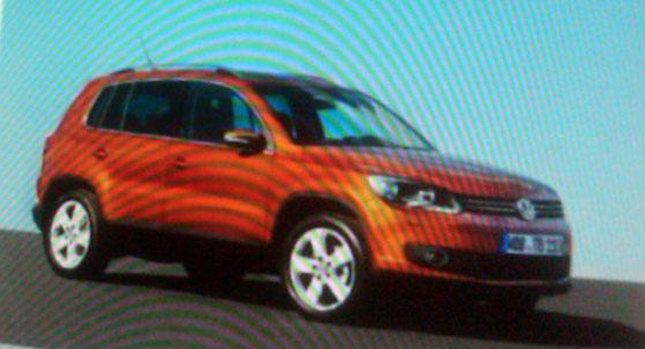 2011 VW Tiguan Brochure 1 2011 VW Tiguan SUV Facelift Leaked Brochure Real Photos