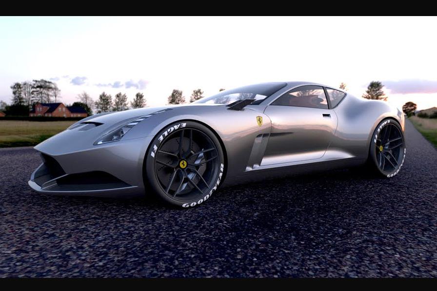 Mama Mia: Ferrari 612 GTO Design Concept by Sasha Selipanov ~ WORLD