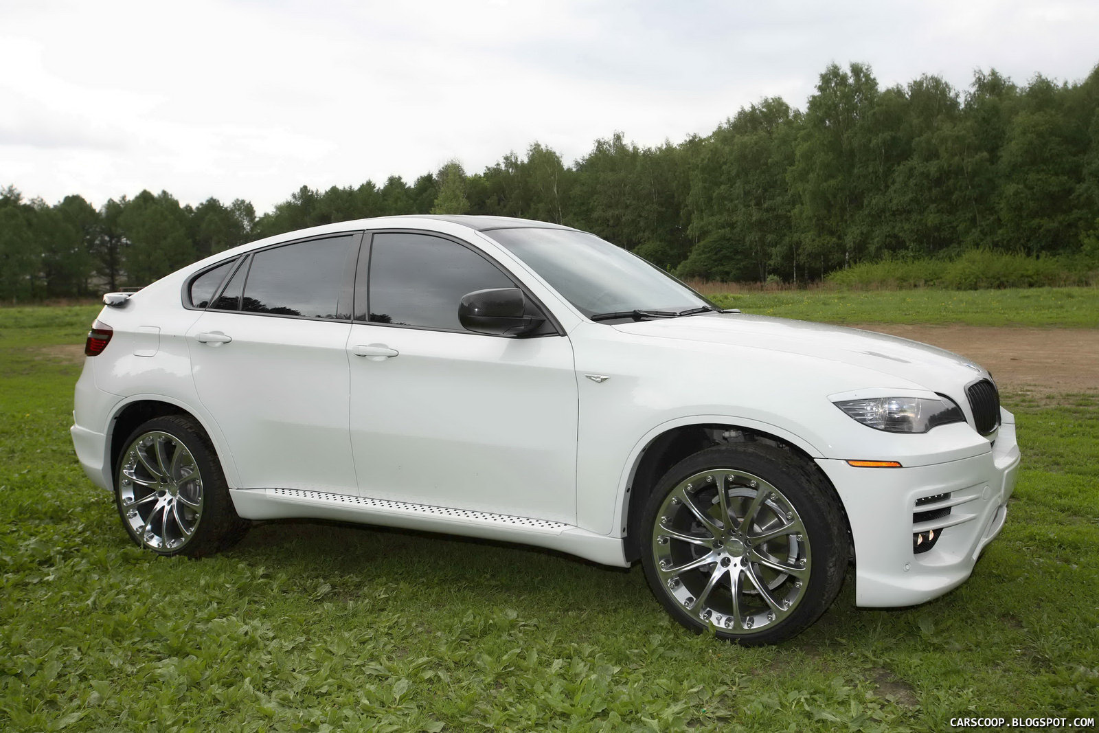 Russian Tuner Status Design Does The Bmw X6 Sav Carscoops