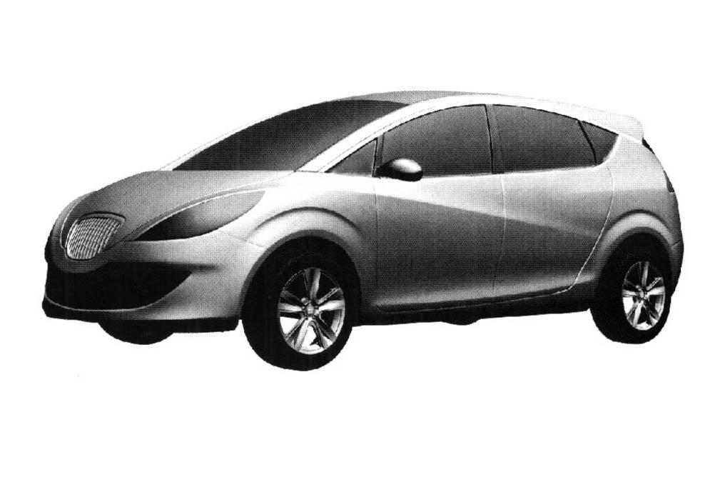 Car new: Redesigned Seat Altea Minivan Drawings Real?