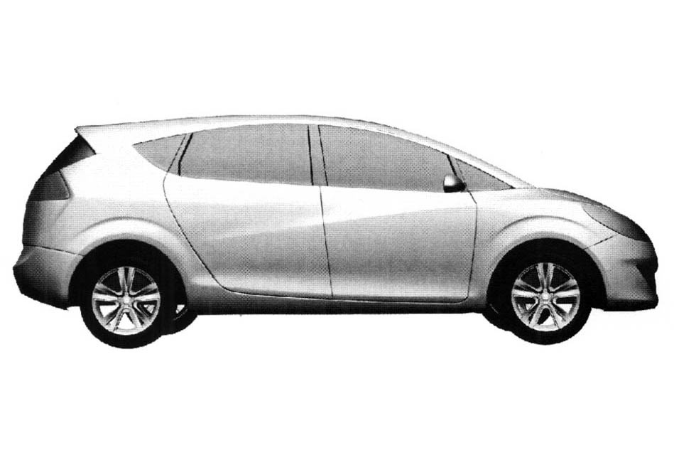 Car new: Redesigned Seat Altea Minivan Drawings Real?