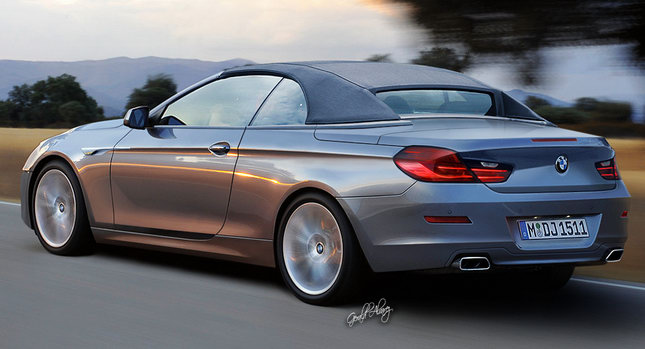 the forthcoming 2011 BMW 6-Series Convertible and applied some photoshop