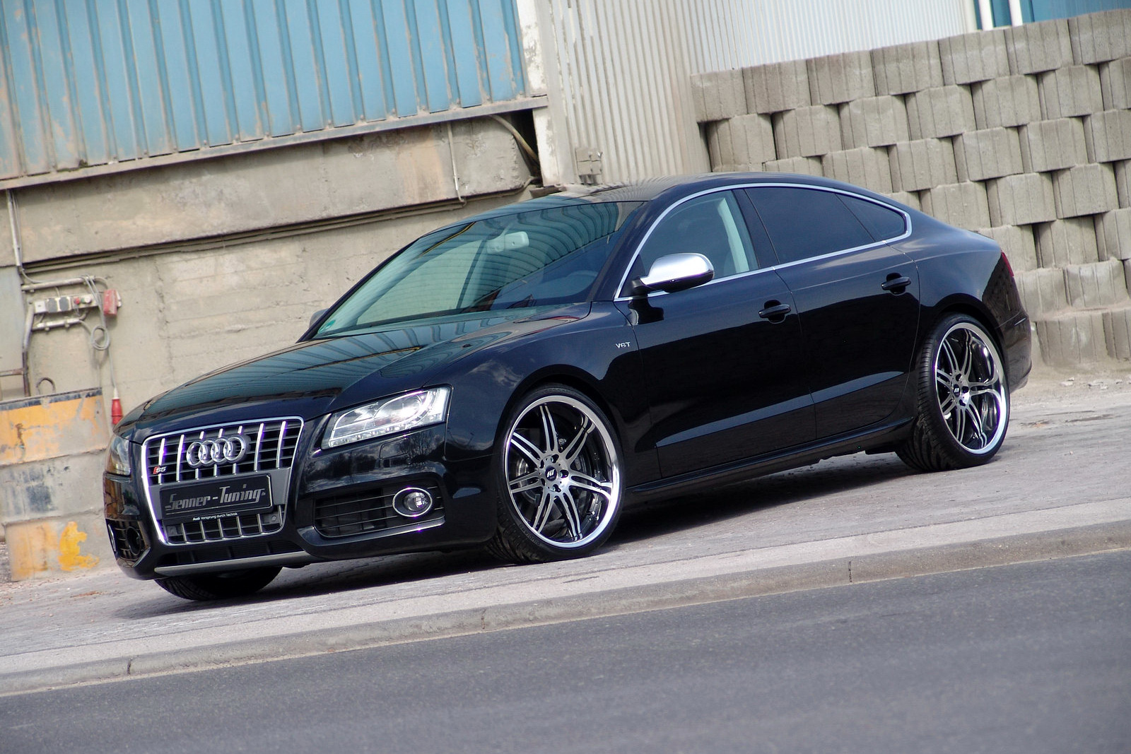 audi s5 sportback grand prix with 375hp by senner tuning carscoops. Black Bedroom Furniture Sets. Home Design Ideas