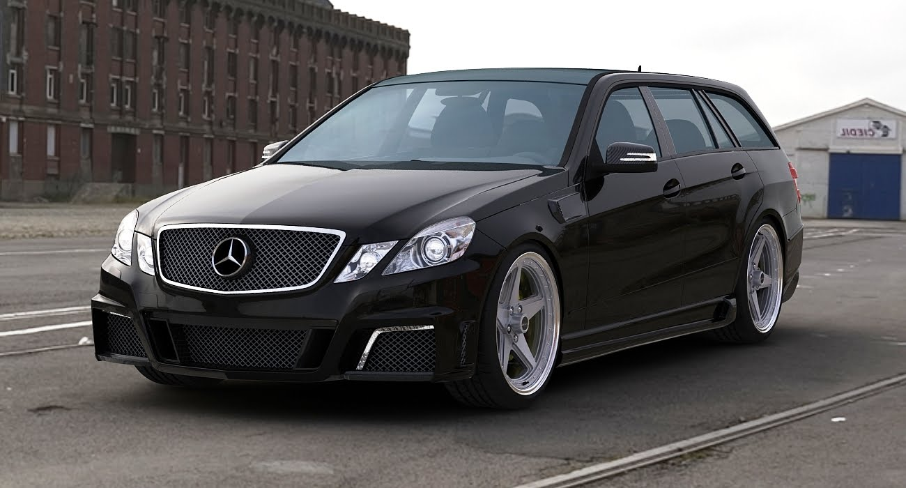 gwa tuning stylizes the new mercedes benz e63 amg estate. Black Bedroom Furniture Sets. Home Design Ideas