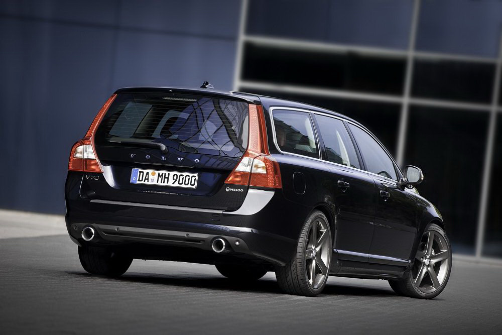 Auto Cars 2011 2012 Limited Edition Volvo V70 T6 Awd R