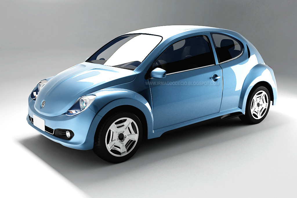 Vw New Beetle 2011. Retro Take for 2012 New VW