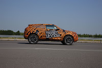 2012 Range Rover Evoque Prototypes 16 Land Rover raps Evoque Prototypes in Funky Camouflage and Hits the StreetsWraps Evoque Prototypes in Funky Camouflage and Hits the Streets