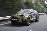 2012 Range Rover Evoque Prototypes 22 Land Rover raps Evoque Prototypes in Funky Camouflage and Hits the StreetsWraps Evoque Prototypes in Funky Camouflage and Hits the Streets