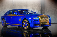 Mansory RR Ghost Gold Edition 25 New Mansory Rolls Royce Ghost Skips on the Gold Flakes