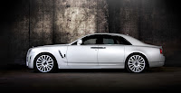 Mansory RR Ghost White 3 New Mansory Rolls Royce Ghost Skips on the Gold Flakes
