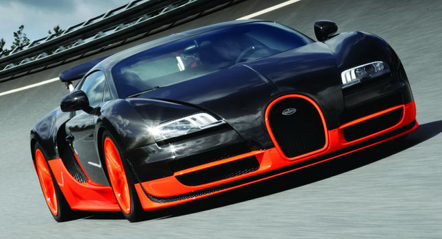 New bugatti veyron 16 4 super sport 1 200hp and 415km h 258mph