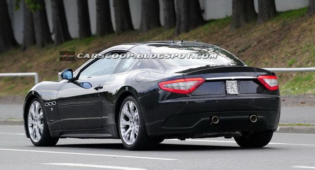 Maserati Granturismo Sport. GranTurismo sports coupe.
