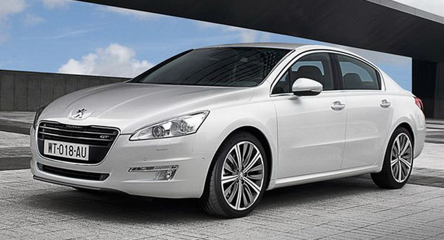 2011 Peugeot 508 0 New Peugeot 508 Sedan and SW First Official Photos