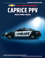 2011 Chevrolet Caprice PPV Manual 1 2011 Chevy Caprice PPV gets Stealthy Detective Package