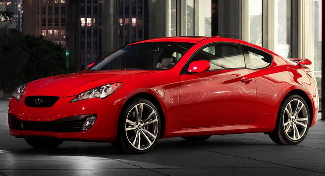 Hyundai Genesis Coupe 01 2011 Hyundai Genesis Coupe Receives