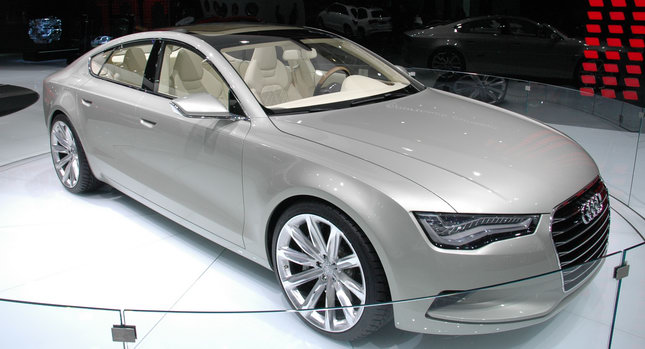 Official: Audi A7 Sportback to be Unveiled on July 26, 2010 ...