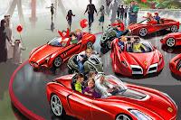 Ferrari World Abu Dhabi reveals attractions and rides