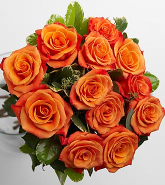 Group of wedding orange rose wallpaper